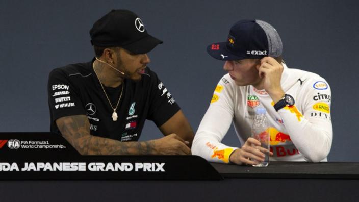 Verstappen: Hamilton only better because of Mercedes