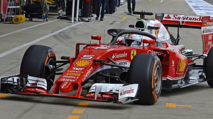 Vettel hails 'unbelievable' Ferrari car