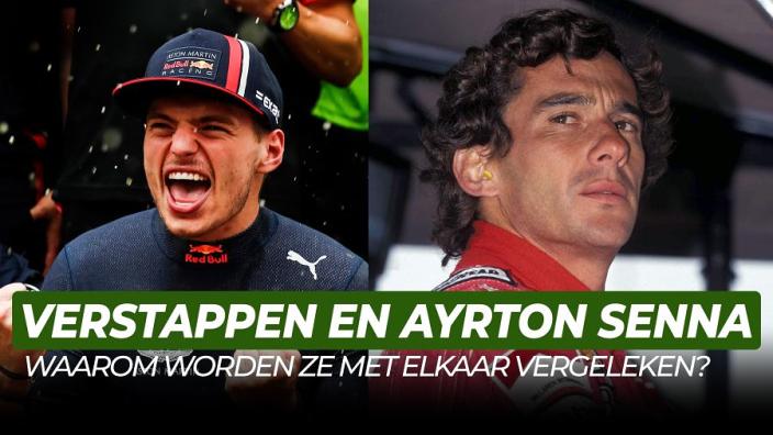 Waarom worden Senna en Verstappen zo vaak met elkaar vergeleken? | Het Leven Van