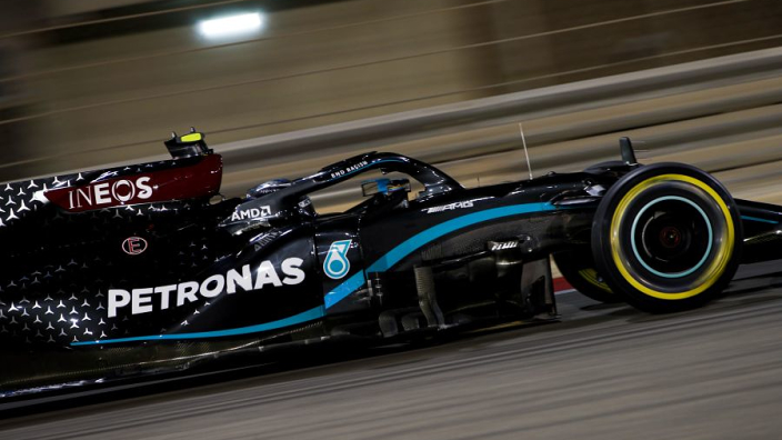 "Pole man Bottas not ""wasting energy"" focusing on Russell"