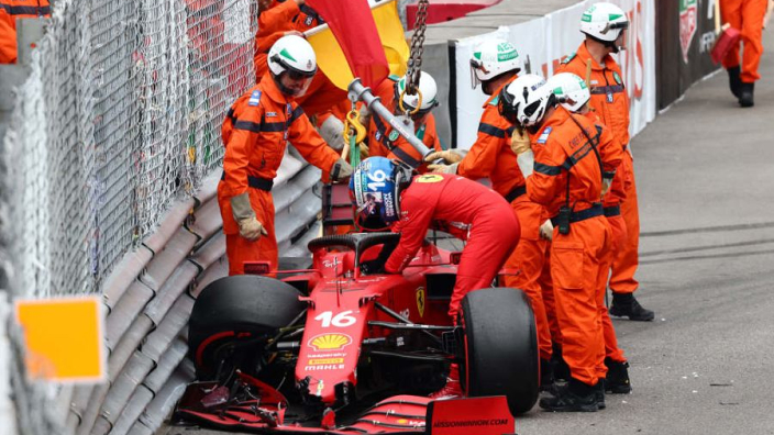 Verstappen starts from Monaco GP pole as Leclerc ruled out by Ferrari