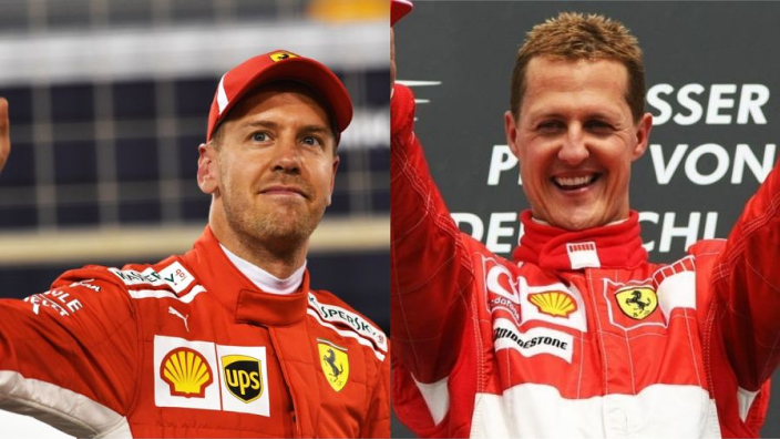Vettel at 32: How he compares to Schumacher at the same age