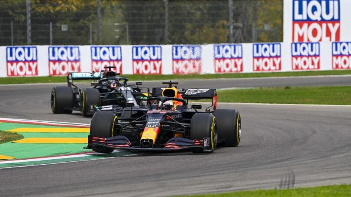 Terugblik: Zo verliep de race op Imola vorig seizoen voor Verstappen