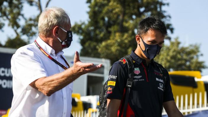 Red Bull neemt na Imola nog geen beslissing over Albon