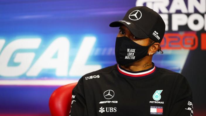 Hamilton slates FIA choice of Petrov as steward after controversial BLM/gay remarks