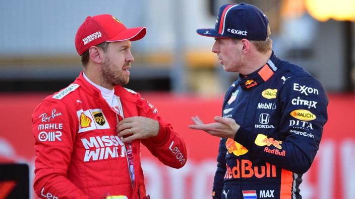 """Horner rules out Verstappen/Vettel """"alpha male"""" partnership"""