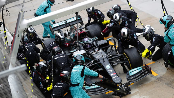 "Mercedes vow to work on pit-stop prowess after ""losing time"" to Red Bull"