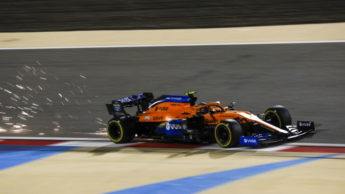 Norris left to lament 'first big qualifying mistake of the season'
