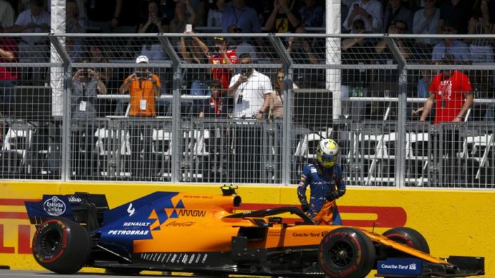 McLaren tast in het duister: 'Uitvalbeurt Norris is een mysterie'