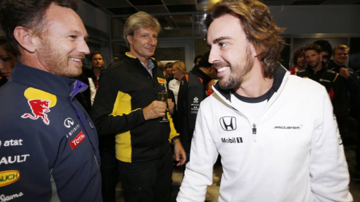 Alonso: Horner apologised for 'chaos' comment