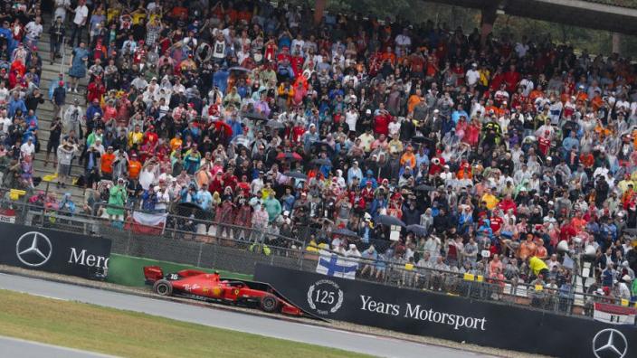 Leclerc critical of Hockenheim track following German GP DNF