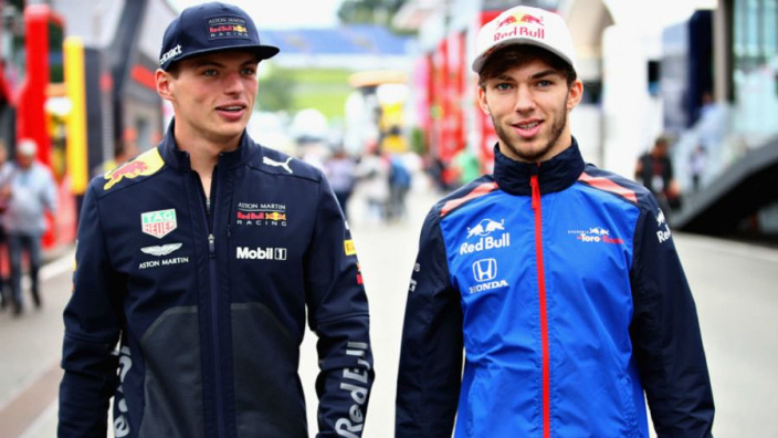 Verstappen the 'perfect' teammate for Gasly