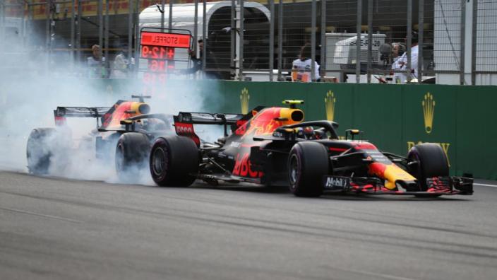 Ricciardo reveals 'f*** you' response to Red Bull after Verstappen Baku crash