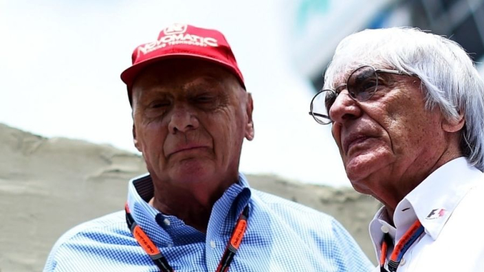 Ecclestone tributes Lauda: He leaves this world with pride