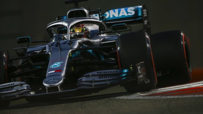 Hamilton ends pole position drought in Abu Dhabi
