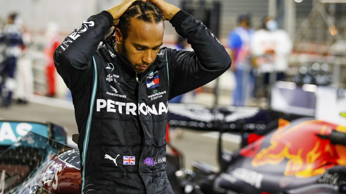 'Not a nice experience' for Hamilton watching Russell drive his car - Wolff