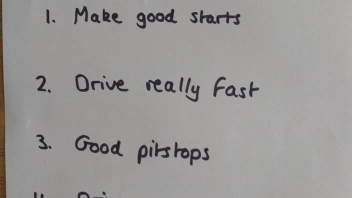 Racestrategie Mercedes 'uitgelekt' op Twitter