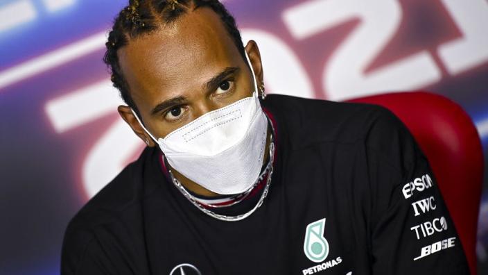 "Hamilton pays Mercedes factory visit in bid for just ""0.01 per cent"" of progress"