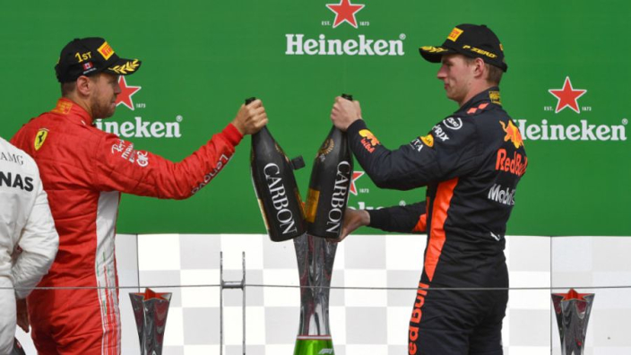 """Verstappen: """"Als ik vanaf pole was begonnen, had ik gewonnen"""""""