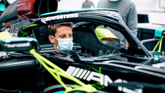 """Grosjean needed """"five minutes"""" at Mercedes to see why they were """"the most successful sport's team in history"""""""