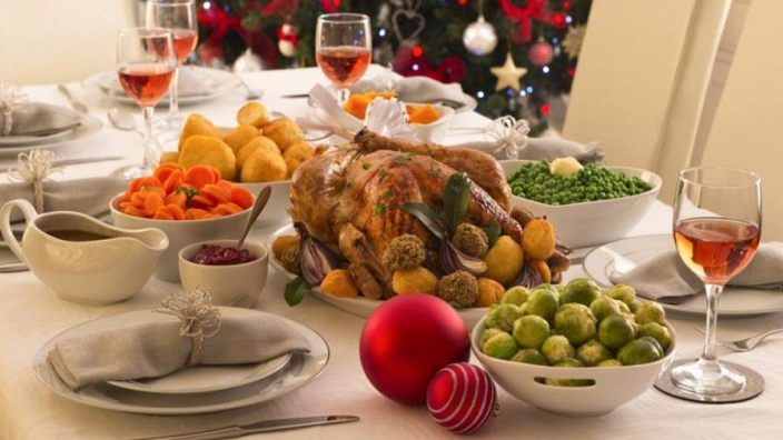 Formula 1 drivers as Christmas Dinner