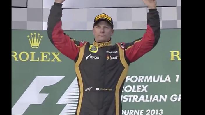 VIDEO: Zeven jaar geleden beleefde Räikkönen dit historische moment