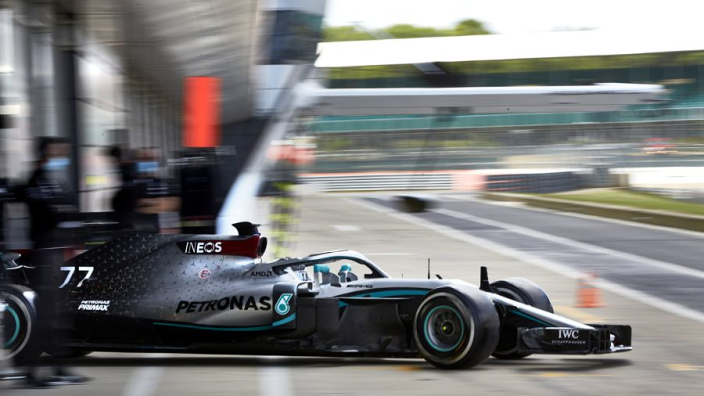 Bottas now itching for F1 race return following Mercedes protocol run out