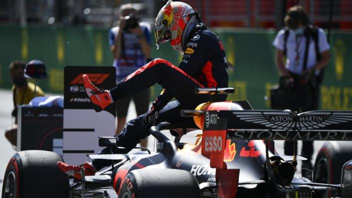 """Verstappen: """"De regen kan tweede race in Oostenrijk interessant maken"""""""