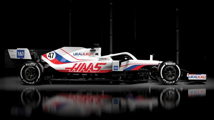 Haas adamant it has not violated rules with Russian flag-themed livery
