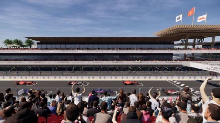 Vietnamese Grand Prix toont 3D-beelden van nieuw Formule 1-circuit