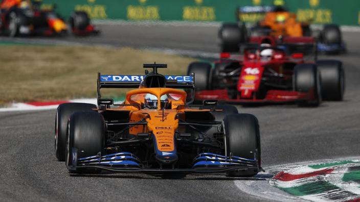 """Leclerc vreest opkomende topvorm Ricciardo na Monza-zege: """"Slecht nieuws voor ons"""""""