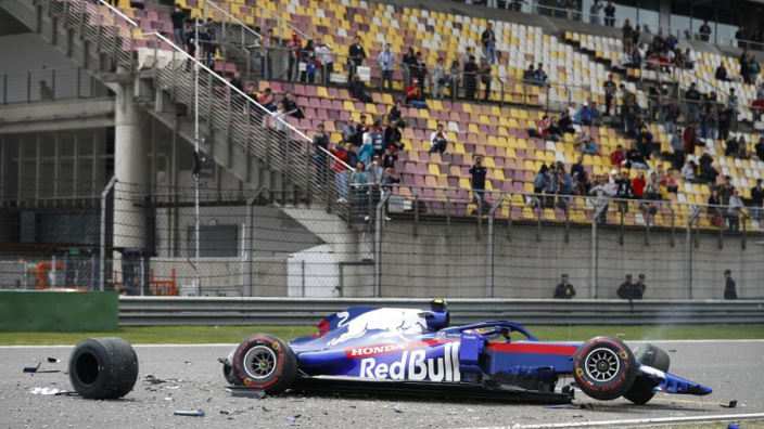 Albon gets all clear after big shunt