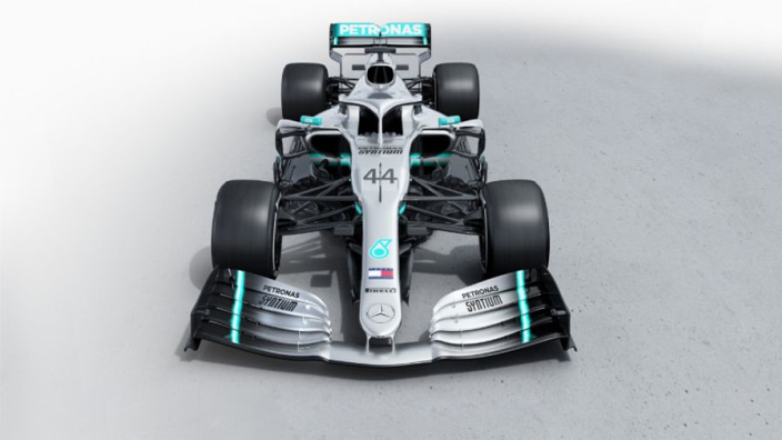 First look at Mercedes W10 on-track at Silverstone