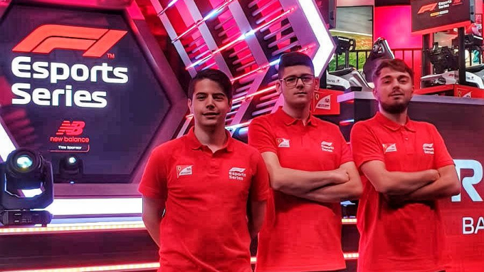Ferrari on fire in F1 Esports debut