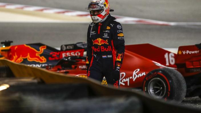Grand Prix van Sakhir: Pérez wint en Verstappen crasht in chaotische race