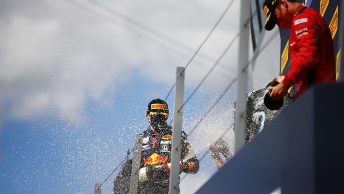 "Leclerc: ""Verstappen kan soms beetje rare dingen zeggen in de media"""