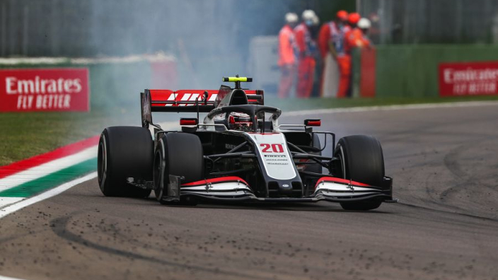 """Magnussen reveals """"massive headache"""" retirement caused by gearbox 'big bangs'"""