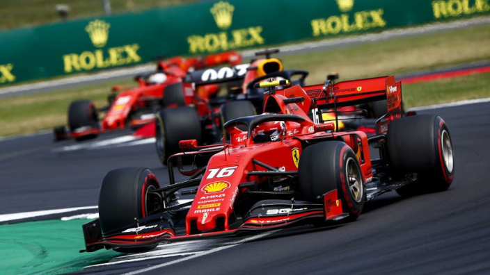 Leclerc shows up Vettel again at Silverstone, leaving Ferrari with a decision to make