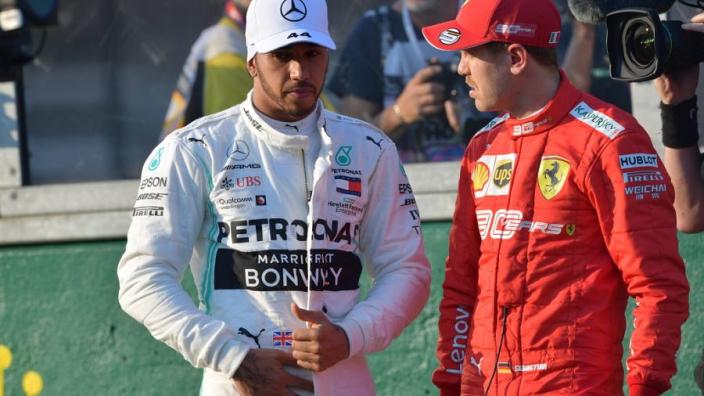 Hamilton over Ferrari: 'Ze zullen sterker zijn in de komende races'