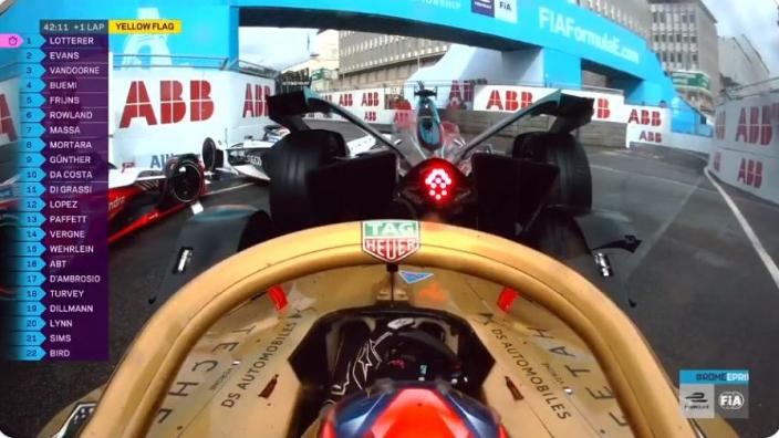 VIDEO: Crazy 10-car pile-up in Formula E Rome race