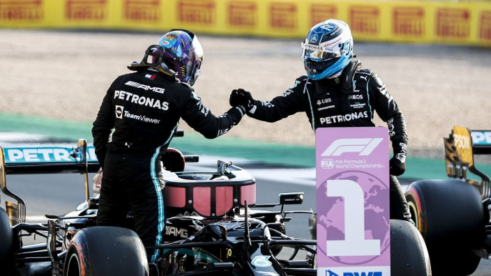 Bottas ervoer problemen bij Britse Grand Prix: 'Ik had geen drinken'