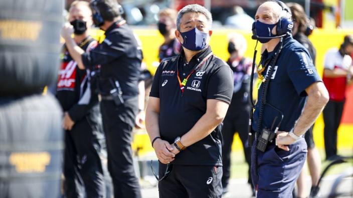 """Yamamoto: """"Eenmaal op het circuit bleek Mercedes nóg sterker te zijn geworden"""""""