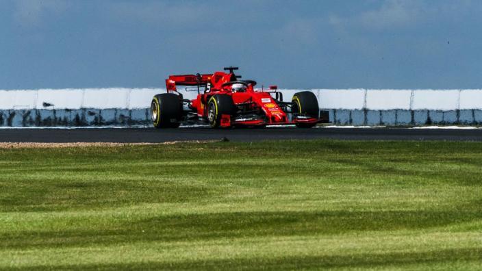Vettel: 'Hoop dat Silverstone Liberty Media goed heeft uitgeperst'