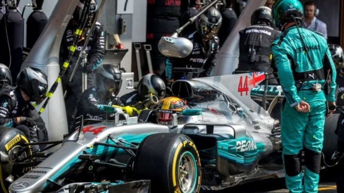 Mercedes speelde met downforce op Spa om Ferrari af te schudden