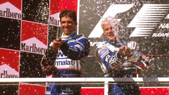 F1 1000: Hill heartbreak as Arrows fails at the last - GPFans' favourite races