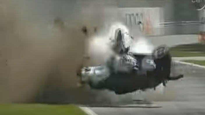 VIDEO: Throwback: de horrorcrash van Kubica in Canada