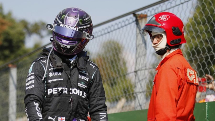"""Marko accuses """"poor Hamilton"""" of 'putting on a show' with Italian GP injuries"""