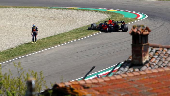 """Marko wijst dader aan voor incident Pérez en Ocon: """"Dit was duidelijk de fout van Pérez"""""""