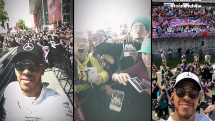 AMAZING: Crowd in China goes crazy for Hamilton