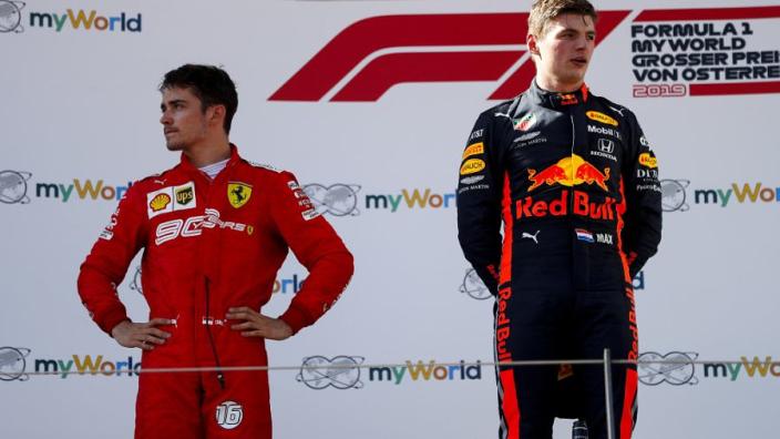 Verstappen ziet meer toekomstige rivalen: 'Er zijn er meer dan Leclerc'